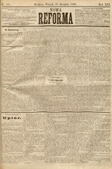 Nowa Reforma. 1900, nr195