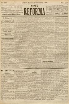 Nowa Reforma. 1900, nr222