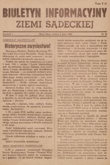 Biuletyn Informacyjny Ziemi Sądeckiej. 1945, nr50