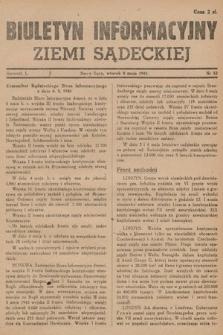 Biuletyn Informacyjny Ziemi Sądeckiej. 1945, nr52