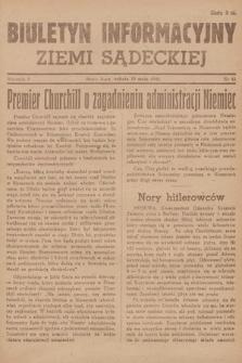 Biuletyn Informacyjny Ziemi Sądeckiej. 1945, nr61