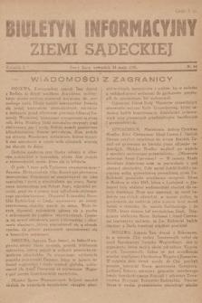 Biuletyn Informacyjny Ziemi Sądeckiej. 1945, nr64