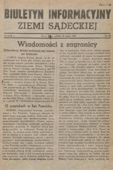 Biuletyn Informacyjny Ziemi Sądeckiej. 1945, nr66