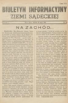 Biuletyn Informacyjny Ziemi Sądeckiej. 1945, nr68