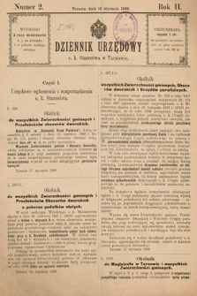 Dziennik Urzędowy C. K. Starostwa w Tarnowie. 1898, nr2