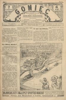 Goniec. 1908, nr7