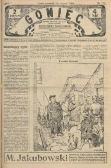 Goniec. 1908, nr116