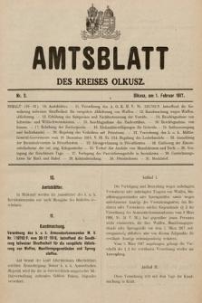 Amtsblatt des Kreises Olkusz. 1917, nr2