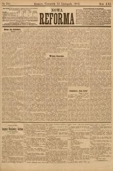 Nowa Reforma. 1902, nr261