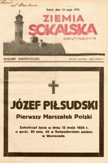 Ziemia Sokalska. 1935, nr10 (wydanie nadzwyczajne)