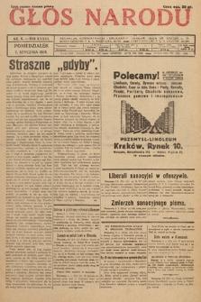 Głos Narodu. 1929, nr6