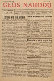 Głos Narodu. 1929, nr10
