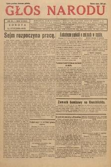Głos Narodu. 1929, nr11
