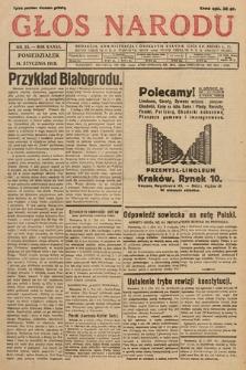 Głos Narodu. 1929, nr13