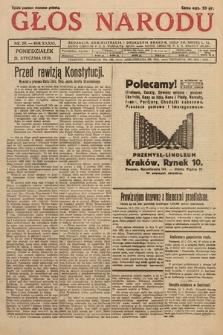 Głos Narodu. 1929, nr20