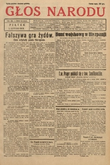Głos Narodu. 1929, nr30