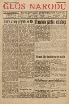 Głos Narodu. 1929, nr38
