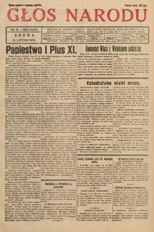 Głos Narodu. 1929, nr41