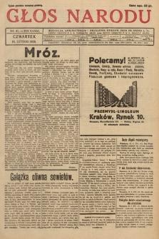 Głos Narodu. 1929, nr42