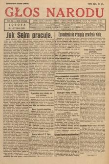 Głos Narodu. 1929, nr44