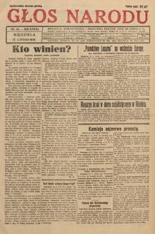 Głos Narodu. 1929, nr45