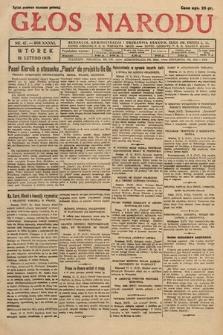 Głos Narodu. 1929, nr47