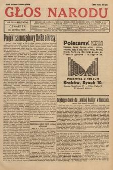 Głos Narodu. 1929, nr56