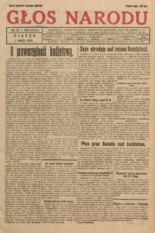 Głos Narodu. 1929, nr57