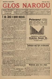 Głos Narodu. 1929, nr84