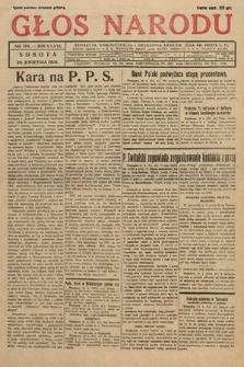 Głos Narodu. 1929, nr104