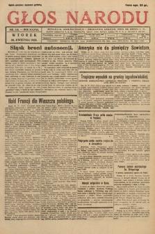 Głos Narodu. 1929, nr114