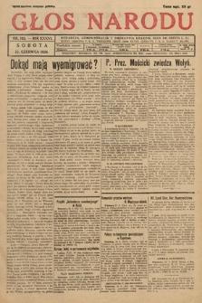 Głos Narodu. 1929, nr163