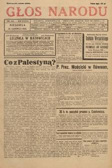 Głos Narodu. 1929, nr164
