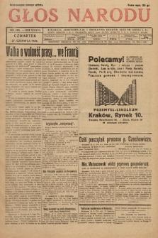 Głos Narodu. 1929, nr168