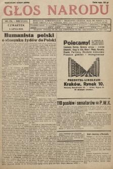 Głos Narodu. 1929, nr174