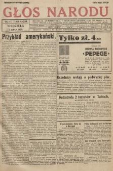 Głos Narodu. 1929, nr177