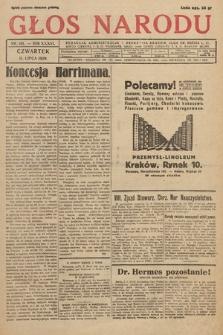 Głos Narodu. 1929, nr181