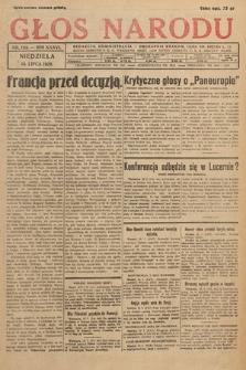 Głos Narodu. 1929, nr184