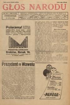 Głos Narodu. 1929, nr185