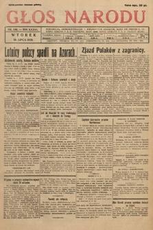 Głos Narodu. 1929, nr186