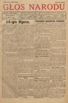 Głos Narodu. 1929, nr187