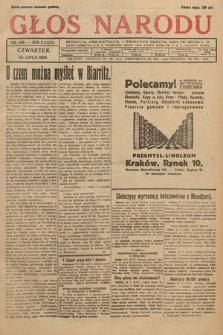 Głos Narodu. 1929, nr188
