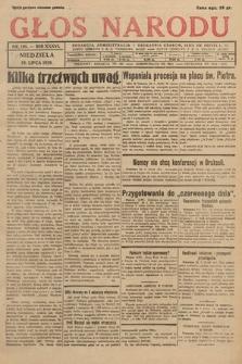 Głos Narodu. 1929, nr198