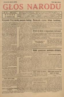 Głos Narodu. 1929, nr220