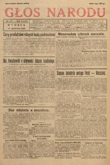 Głos Narodu. 1929, nr227