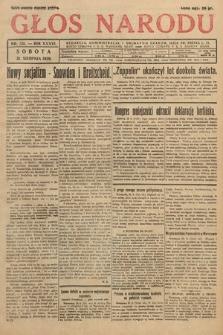 Głos Narodu. 1929, nr231
