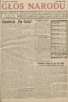 Głos Narodu. 1929, nr244