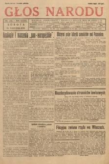 Głos Narodu. 1929, nr245