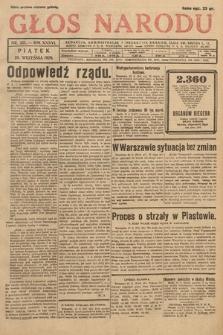 Głos Narodu. 1929, nr251