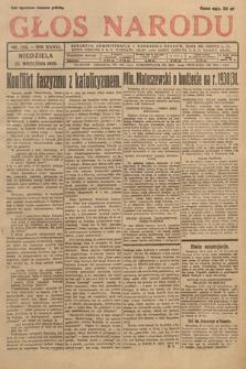 Głos Narodu. 1929, nr253